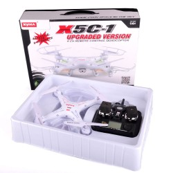 Syma X5C-1 quadcopter with HD camera