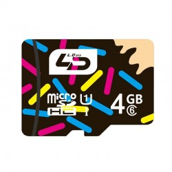 LD 4 GB Micro SD memory card